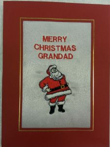 PERSONALISED FATHER CHRISTMAS - CHRISTMAS CARD